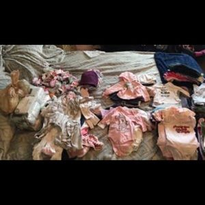 Over 200 articles of Infant girl clothes